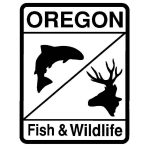 Oregon fish and Wildlife sign