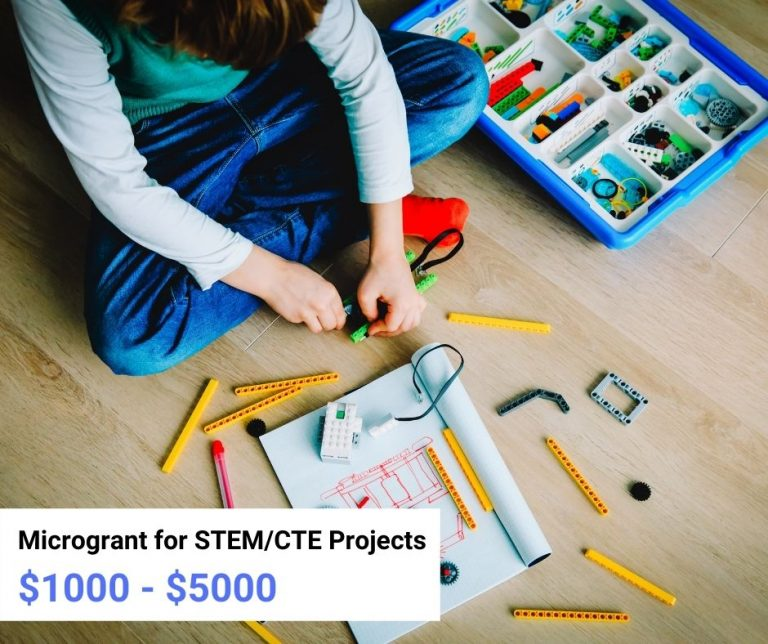 STEM CTE Projects microgrants for educators for community-based organizations in Linn and Benton Counties