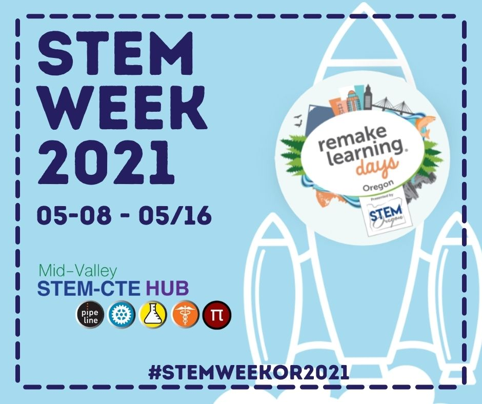 STEM Week save the date graphic